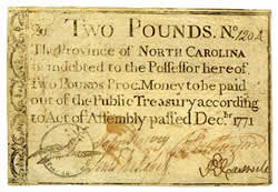 Colonial Scrip - Federal Reserve: Money Exhibit