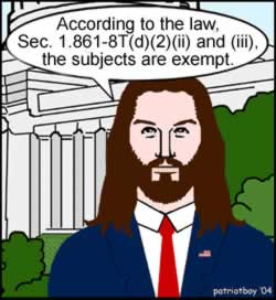 Jesus gives the law.
