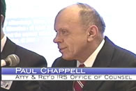 Paul Chappell, former IRS says the IRS is violating regulations and requirements
