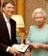 Bill Gates knighted by British queen, a subject of monarchs.